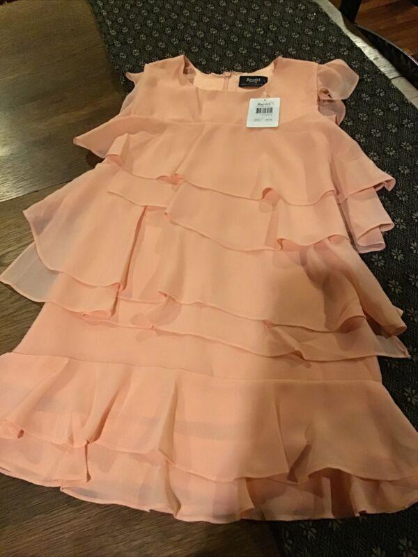 Nwt Bardot Girls Lined Dress...Size 7-8