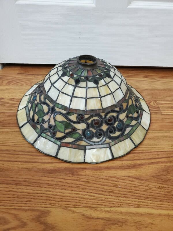 Tiffany Style Lamp Shade 16in × 6.4in