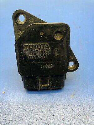 SCION LEXUS TOYOTA OEM MASS AIR FLOW METER SENSOR 22204-22010 DENSO 197400-2030