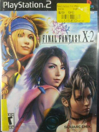 Final Fantasy X-2 PS2 Playstation 2 Game Complete - $5.74