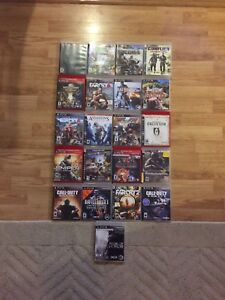 PS3 games for sale $5 each