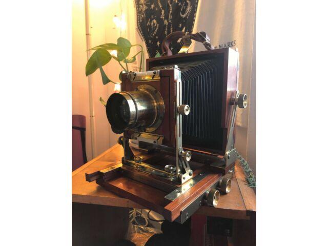 Zone VI 4x5 w/ Dallmeyer No. 2 Lantern Lens
