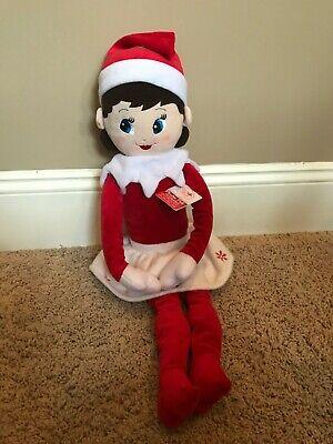 NWT Elf On The Shelf Plushee Pals Huggable LIGHT GIRL Scout Elf Doll