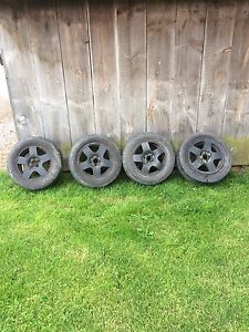 VW Jetta Rims with Tires