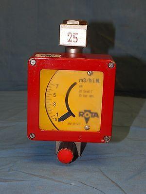 Rota Rotameter M3hi. N. Ar 20 Grad C 35 Bar Abs. Flow Meter 890530.5401