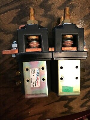 Curtisalbright Sw202-41 Electric Vehicle Dc Contactor Motor Reversing 48 V New