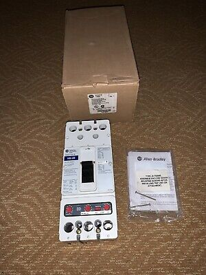 New In Box Allen Bradley 140u-jd0x3 A. 250 Amp Molded Case Circuit Breaker 200 T