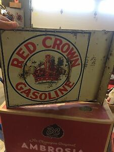 Red crown gasoline flang