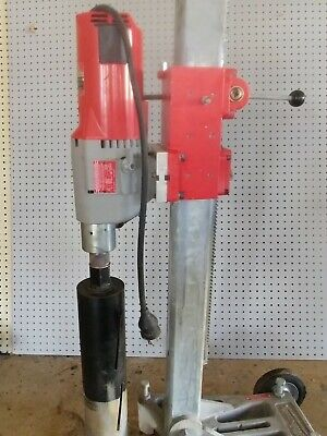 Milwuakee Dymodrill Core Drill 4096 W 4130 Dymo Rig Elec. Cord And Bit Shown