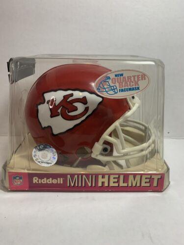 NFL KANSAS CITY CHIEFS Riddell Mini Football Helmet New In Box - $22.00
