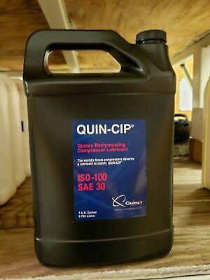 Genuine Quincy Quin-cip 112543g100 Compressor Oil 1 Gallon - New