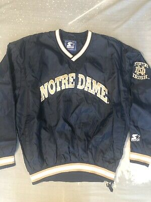 Clothing, Shoes & Accessories Notre Dame Irish Youth Large Starter Jacket Vintage