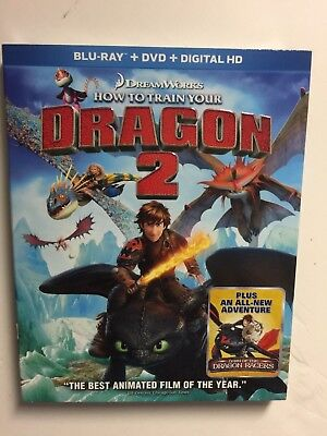 How to Train Your Dragon 2 (Blu-ray/DVD, Digital HD, 2014) NEW w/slipcover (Halloween 2 Blu Ray Special Edition)