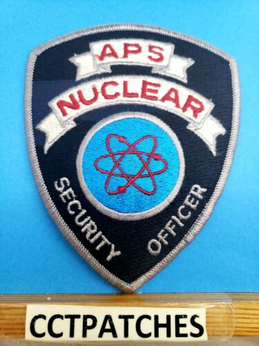 APS NUCLEAR ARIZONA SECURITY OFFICER (POLICE) SHOULDER PATCH AZ