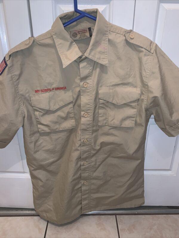 Boy Scout BSA UNIFORM New Style SHIRT Youth Extra Large Short Sleeve K63