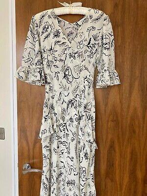 Rixo London - Silk Maxi Dress XS