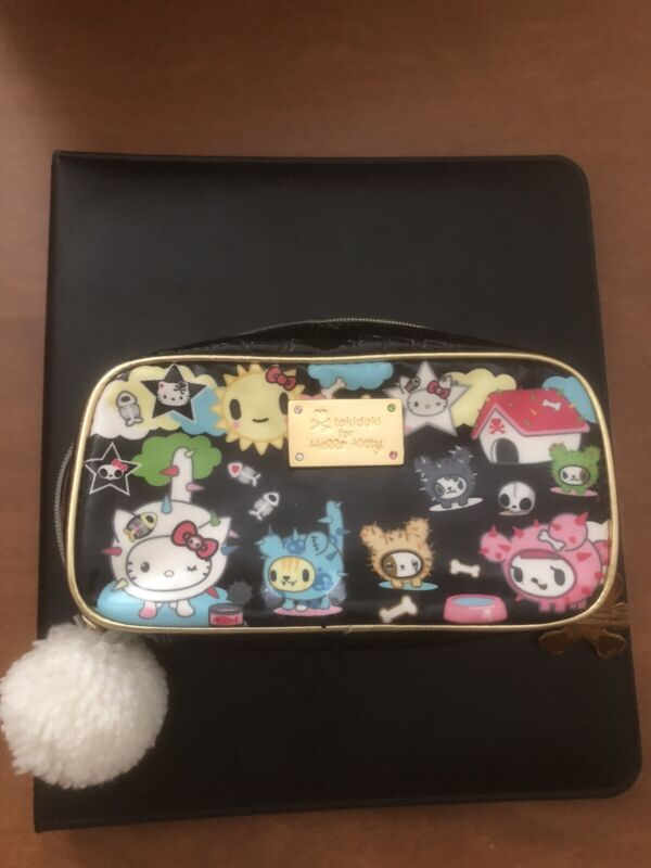 Tokidoki x Hello Kitty Pouch Cosmetic Case excellent condition