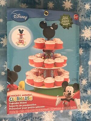 Wilton 1512-7070 Disney Mickey Mouse Clubhouse Cupcake Treat Stand New