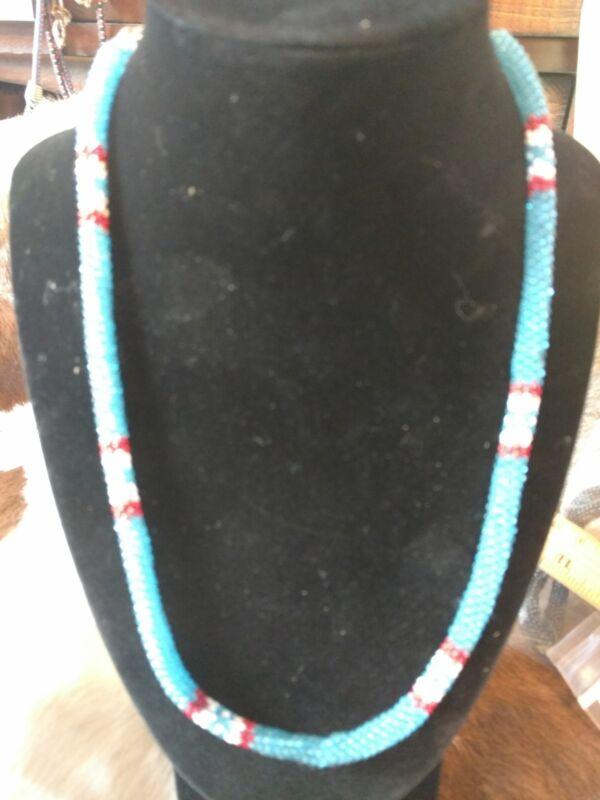 Native American Styled Choker peyote stitched