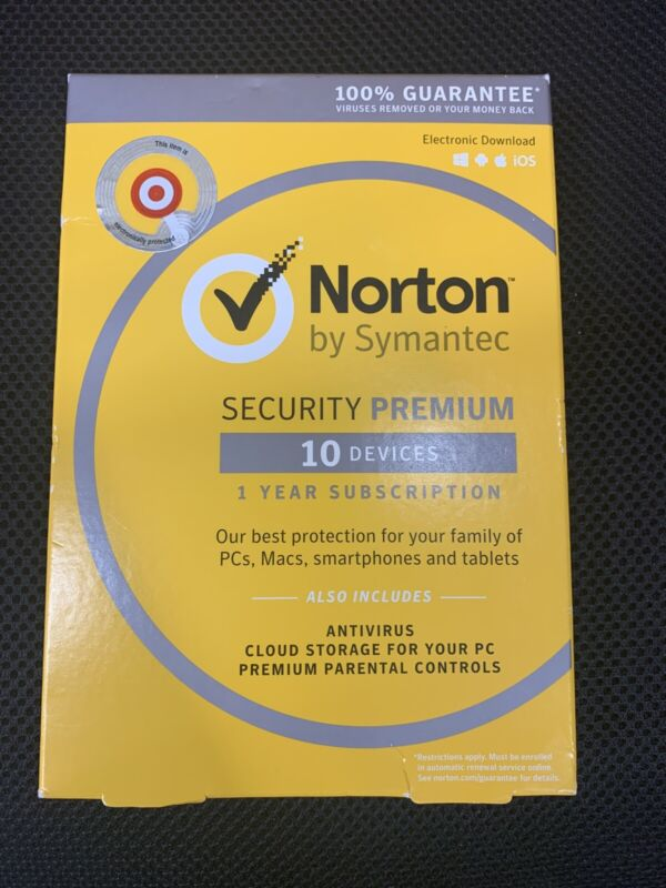 Norton Security Premium - 10 Devices (PC Software) ... A5