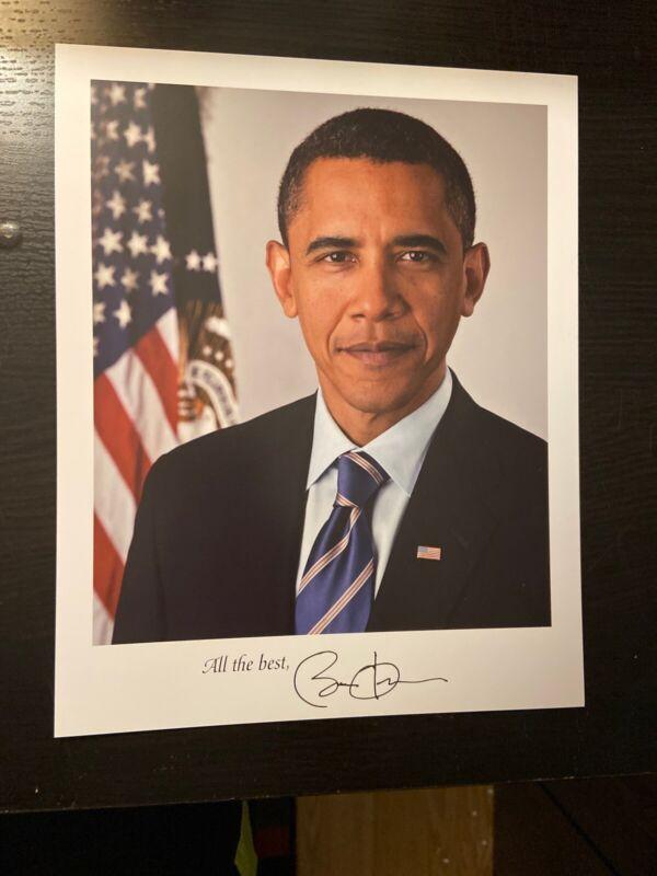 "2009 Official White House Photo Obama 8""x10"""