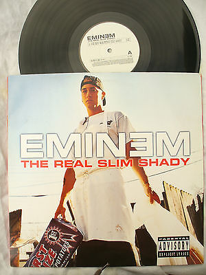 "EMINEM 12"" THE REAL SLIM SHADY 497379 1 un122 lc 06406..... 33 rpm"