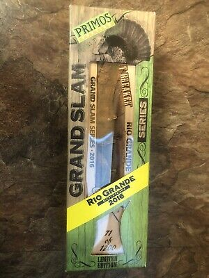 Primos Grand Slam Series 2016 Rio Grande Turkey Heartbreaker Box Call Grand Slam Series