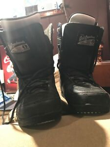 Ride snowboard boots size 10