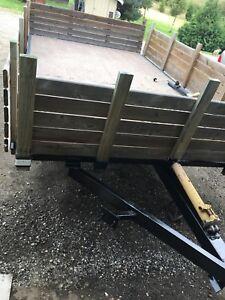 14 x 8 foot deck tilt trailer O.B.O!