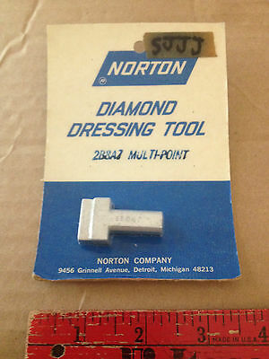 Norton 2b8a7 66260195071 Multipoint Diamond Dressing Tool Nos.