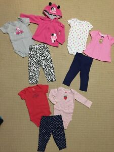9-12 Month Baby Girl Clothes - Excellent Condition!