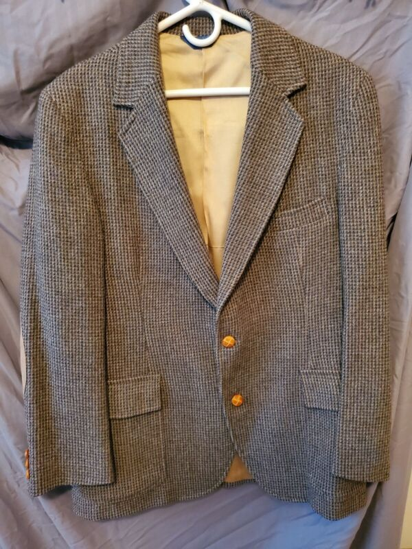 Pendleton Tweed Blazer Sports Coat 42R
