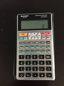Sharp EL-738 Business/Financial Calculator