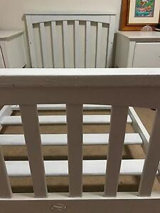 White toddler bed Brassall Ipswich City Preview