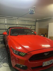 2017 Ford Mustang Gt 5.0 V8 6 Sp Automatic 2d Convertible