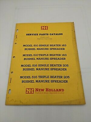 New Holland Service Parts Catalog Model 510 516 Manure Spreader 2-67