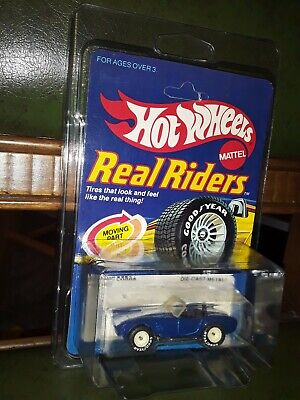 Extremly Rare Hot Wheels White Hub 1982 Real Riders Cobra, MIP, Non Punched!!