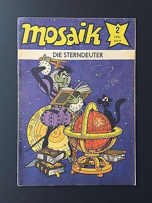 Original Mosaik Comic Abrafaxe,  Sehr Guter - Guter Zustand,  Nr. 2-1981