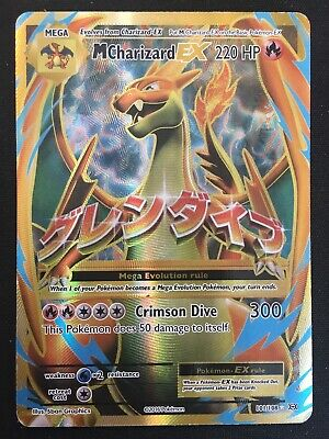 M Charizard EX 101/108 XY Evolutions - Ultra Rare Pokemon Card - MP