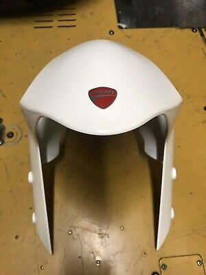 Ducati monster 696 - WHITE FRONT MUDGUARD - 2011 to 2013