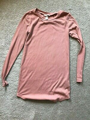 H&M Peach Long Shirt Size Medium