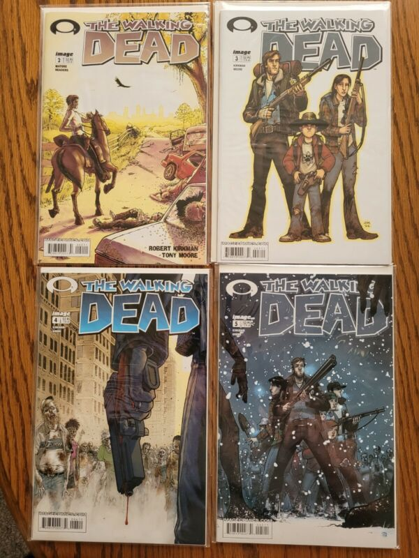 The Walking Dead Comic #2-5 ***First Print***