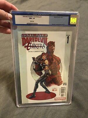 Ultimate Daredevil And Electra #1 CGC Graded 9.6 (Superhero Electra)