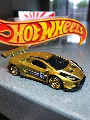 Hot Wheels 100 Extraordinary Yrs Custom Lamborghini HURACAN SUPER Trofeo W/RR's
