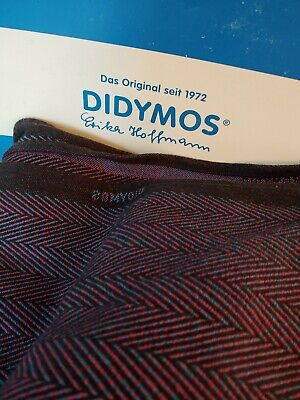 DIDYMOS Woven Wrap, Baby Carrier, Lisca Minos, Size 8, Used Twice, Free Shipping