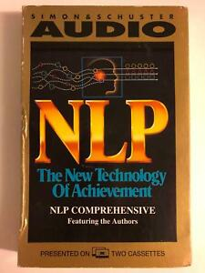 NLP The New Technology Of Achievement Audio Book, (2 cassettes)