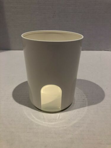 """TUPPERWARE ONE TOUCH Reminder Window REPLACEMENT CANISTER """"A"""" 2422 NO LID E21"""