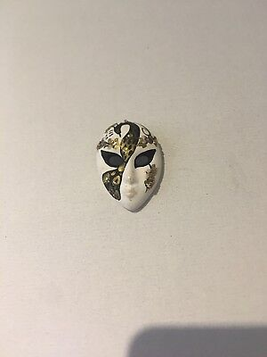 Venician Mask (Venician Decorative Mask  BROACH 5cm)