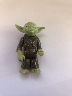 Star Wars Vintage Kenner Yoda Great Paint Stuff Limbs Vibrant VGC