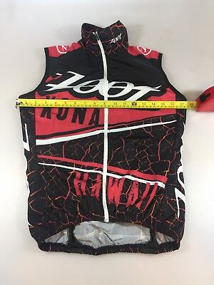 Zoot Kona Womens Cycling Wind Vest Small S (5957)